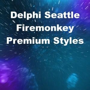 Delphi 10 Seattle Firemonkey Premium Styles Android IOS OSX Windows