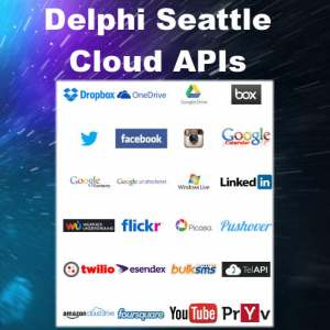 Delphi 10 Seattle Cloud API Component Suite Firemonkey Android IOS