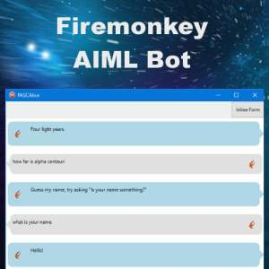 Delphi Berlin Firemonkey AIML Chat Bot Android IOS