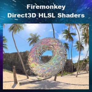 Delphi 10 Berlin Firemonkey Windows Shaders Direct3D HLSL