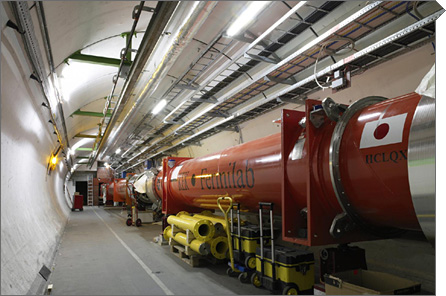 LHC collisions at world-record energy