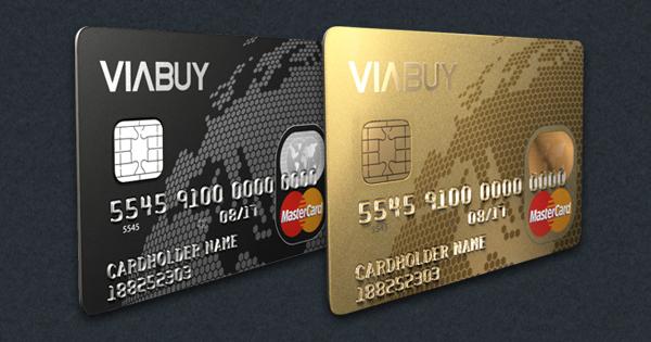 Hochgeprägte Premium MasterCard Kreditkarte in Gold oder Schwarz ohne Schufa