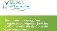 La demande d'autorisation de destruction et de perturbation de spécimens d'espèces animales protégées actuellement instruite par la préfecture de la Vendée vient clore le processus administratif préalable à la réalisation […]
