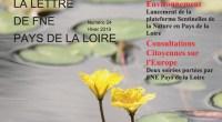 FNE Pays de la Loire vient de publier un nouveau numéro de sa revue trimestrielle. Il s'agit du numéro 24 de l'Hiver 2019. Alors, aucune hésitation… on se jette dessus […]