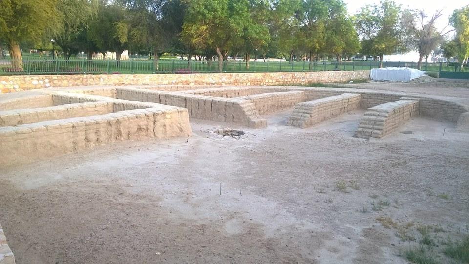 حديقة اثار الهيلي في مدينة العين الاماراتية .. بالصور