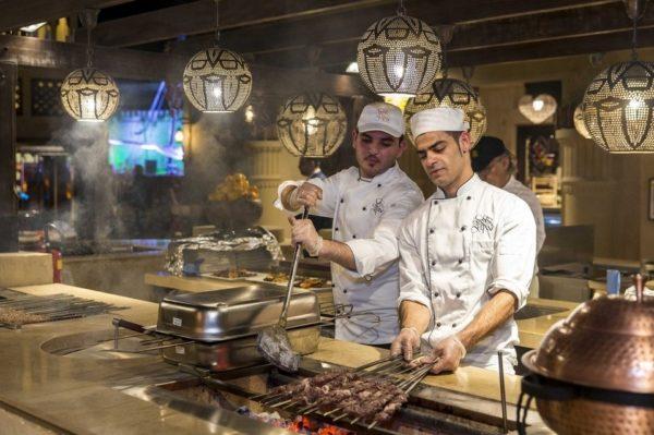 مطعم قصر السلطان دبي