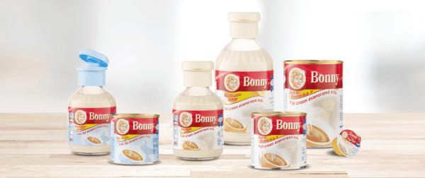 حليب بوني وفوائده بالشكولاته ومبخر وفراوله وقليل الدسم