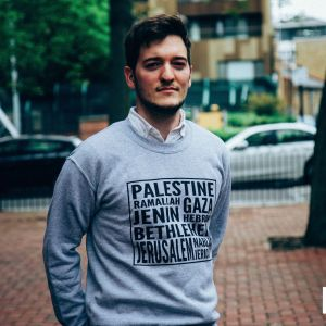 Palestine Cities Sweatshirt