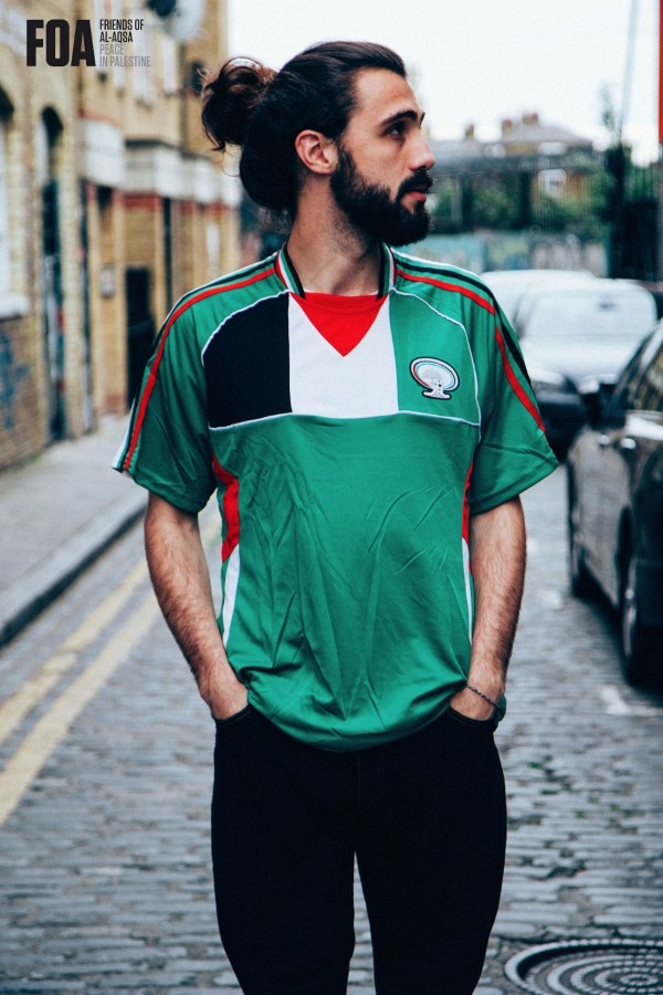 Palestine Football Shirt - Green
