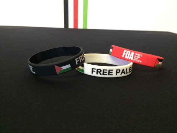 Free Palestine Wristband with Flag