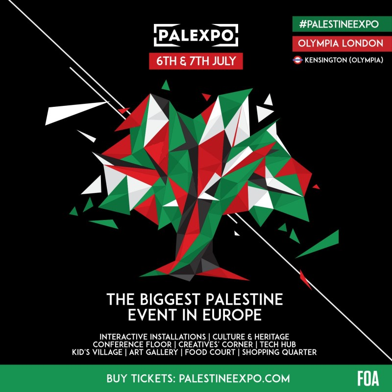 Palestine Expo Event Poster