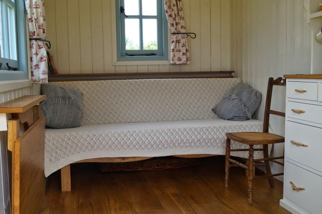 Pull out benches are great for seating, sleeping and storage.