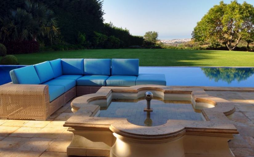 Foam For Comfort's Outdoor Cushions.
