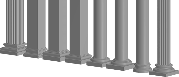 FOAMWORKS COLUMNS Architectural Decorative Lightweight EPS