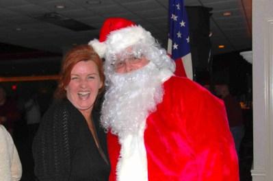 Annie and Santa