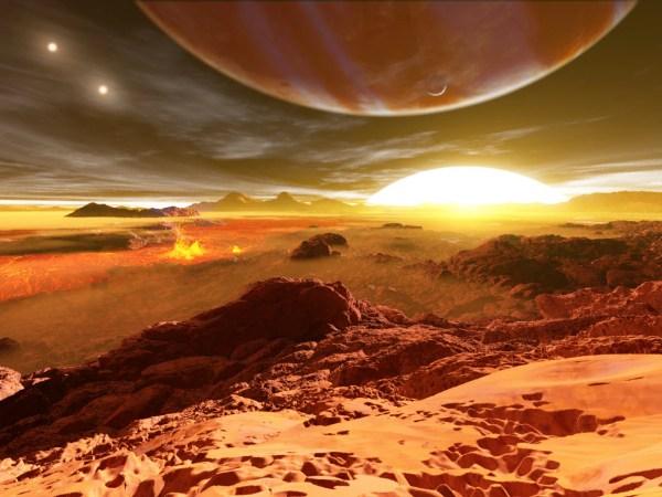 Scoperto un pianeta che ruota attorno a tre stelle - Focus.it