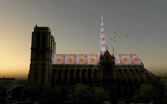 Parigi, la ricostruzione della cattedrale di Notre-Dame
