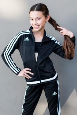 Sophia Albornoz in FOCUS Dance Center Tracksuit