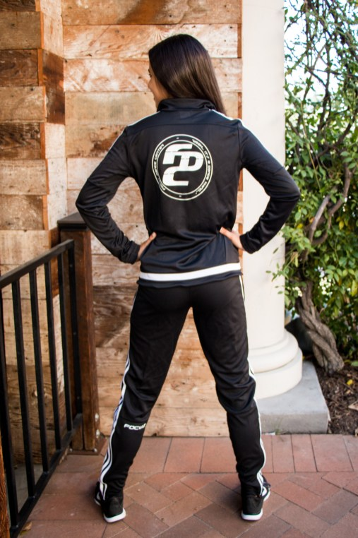 Dilyn Reynolds in FOCUS Dance Center Tracksuit