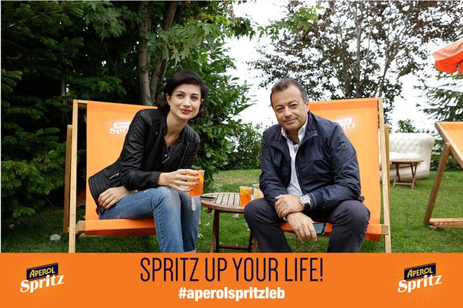 Aperol Spritz rend votre vie plus pétillante