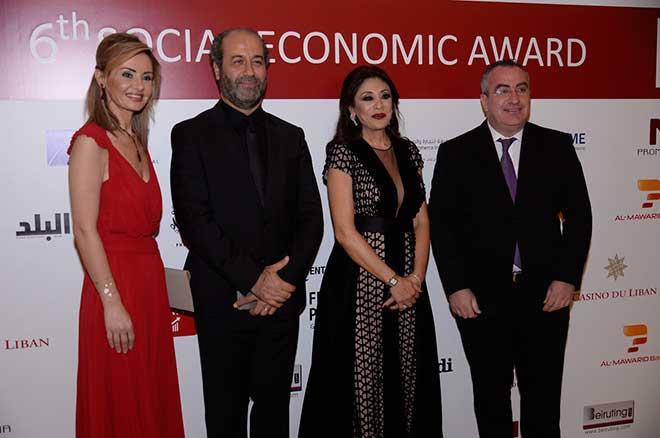 6ème dîner de gala du «Social Economic Award» au Casino du Liban