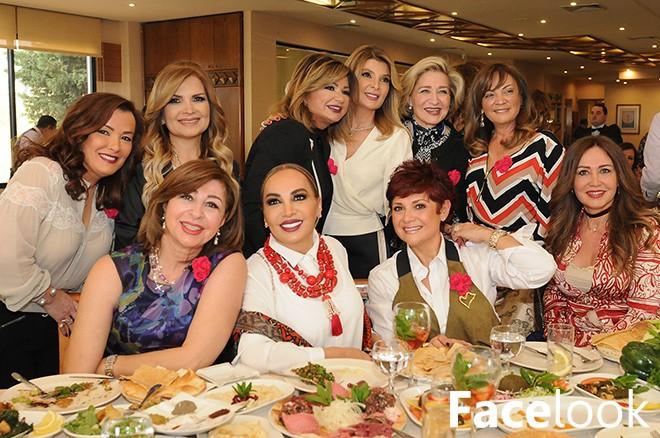 Déjeuner de Dalia Dagher à Mehanna à l'occasion de la fête des mères
