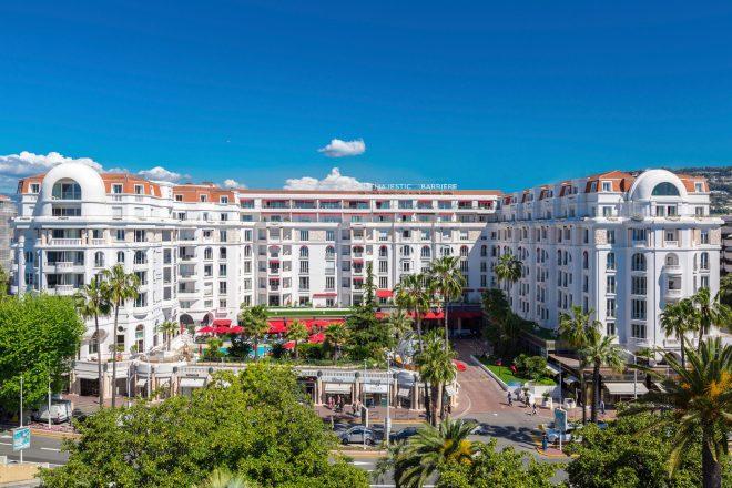 La famille à l'honneur dans les Hôtels Le Majestic et Le Gray d'Albion Cannes