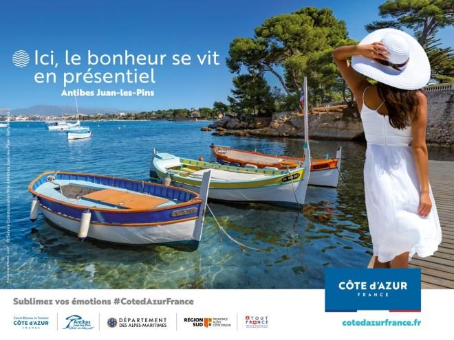 Lancement de la campagne de promotion Côte d'Azur France 2021: Ici, la reprise se joue aujourd'hui