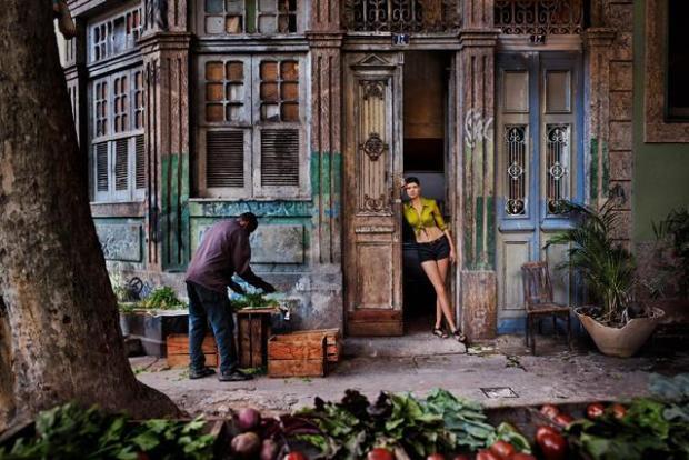 Hanna Ben Abdesslem for Pirelli Calendar 2013. Ph. Steve McCurry