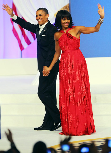 The First Lady of Style: Michelle Obama WOWS in (Jason) Wu Again for Inaugural Gown, and then some