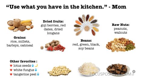 Eight Treasure Porridge Ingredients