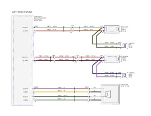 Factory Wiring Diagram from the Sony Amp for SYNC3 w Nav