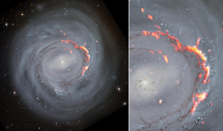 Side by Side Composite NGC4921