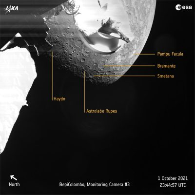 A Taste of Mercury Geology Annotated