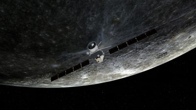 BepiColombo First Mercury Flyby 4