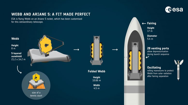 Webb and Ariane 5 Perfect Fit