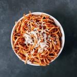 Low FODMAP Spicy Pasta Sauce #pasta #spaghetti #sauce #bolognese #beef #glutenfree #fodmap #lowfodmap #lactosefree