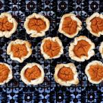 Low FODMAP Pumpkin Tarts on wire rack