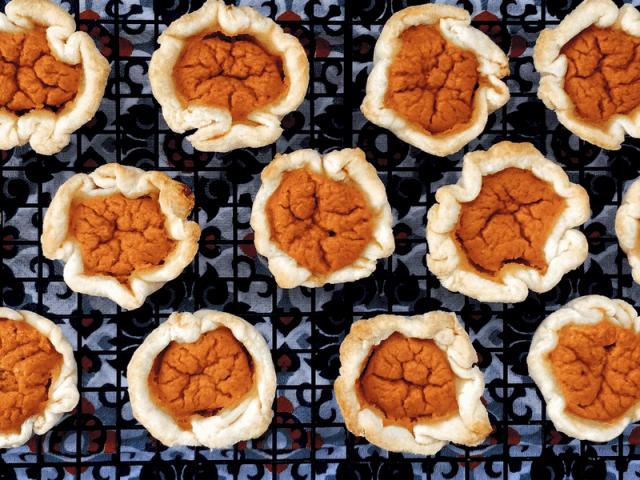 Low FODMAP Pumpkin Tarts