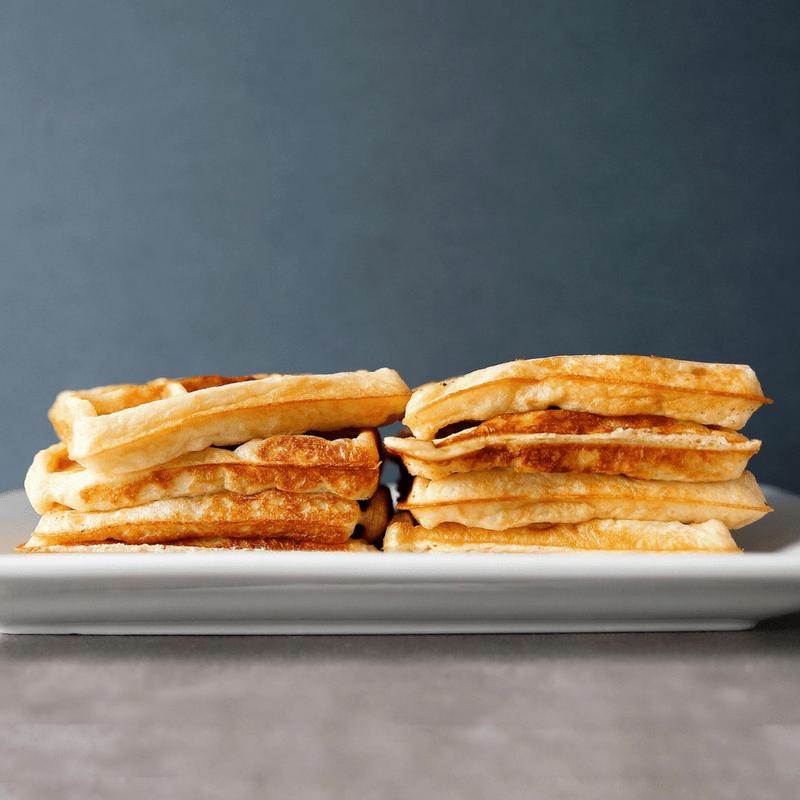 Low FODMAP Sourdough Waffles