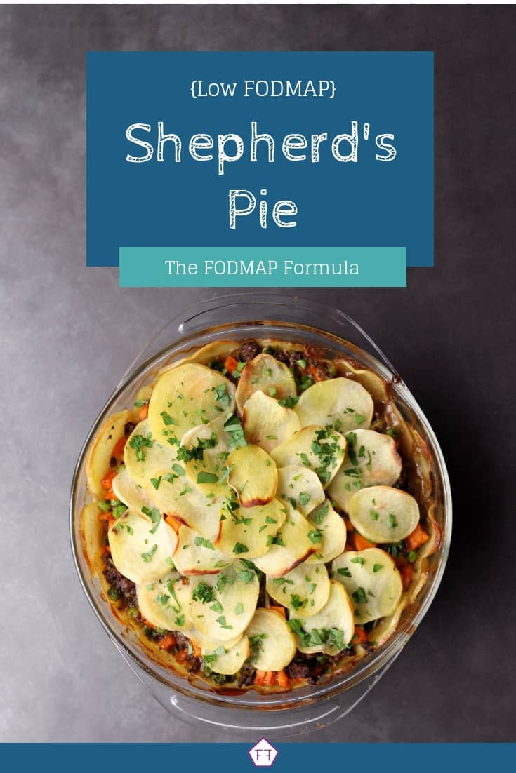 Low FODMAP Shepherd's Pie