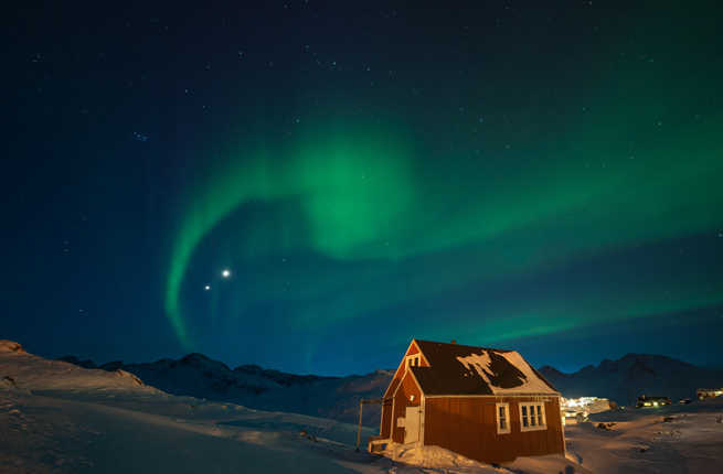Best Location Viewing Northern Lights