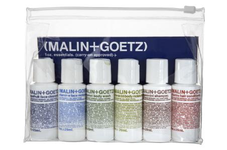 Malin + Goetz travel kit