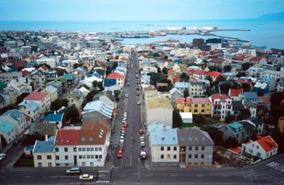 A view from Hallgrímskirkja tower