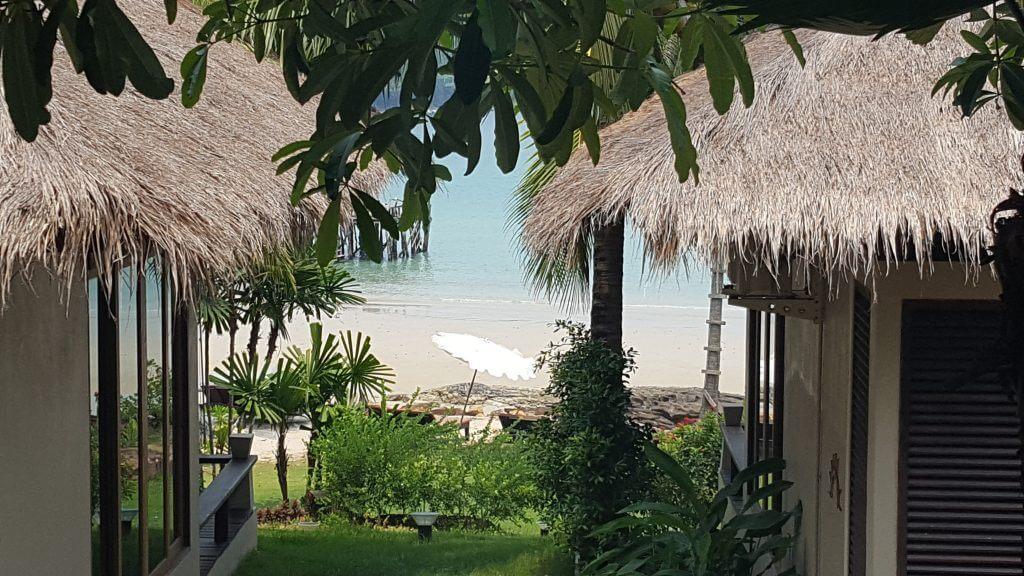 Natural beach resort