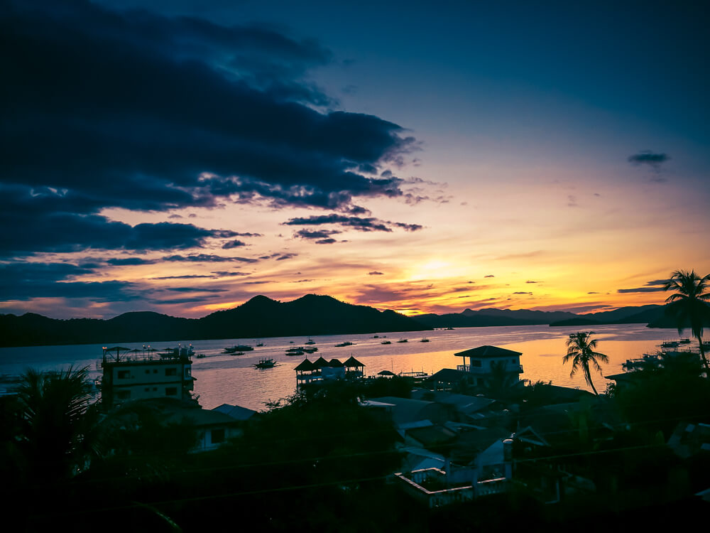 Coron Sunset