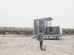 Cadzand: strandhuisje Strandweelde