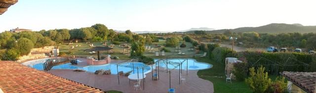 Hotel Spereasole Maria Murta Blick nach Olbia