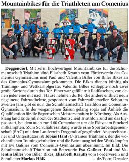 Deggendorfer Zeitung 09.03.2017