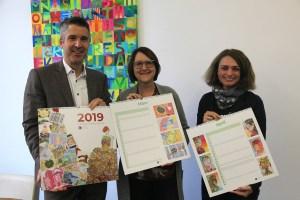 Kalender 2019 aus dem Kunst-Unterricht